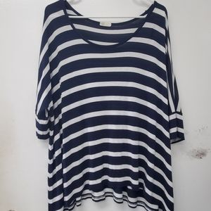 AG Adriano Goldschmied striped top